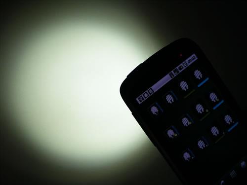 Tesla LED on Nexus One