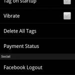 Shazam settings