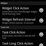 Task Manager preferences