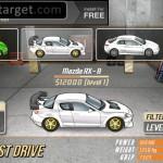 Drag Racing screenshot Garage