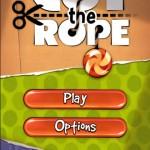 Cut the rope main menu
